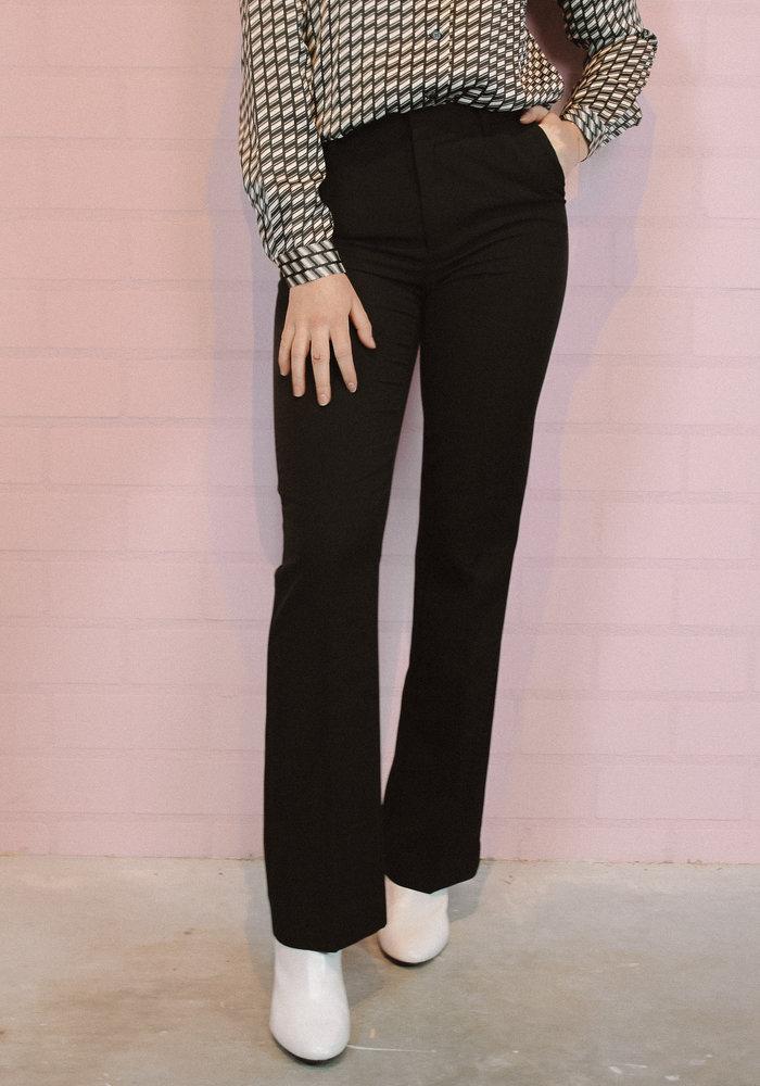 Ichi - Lexi Flared Pants Black