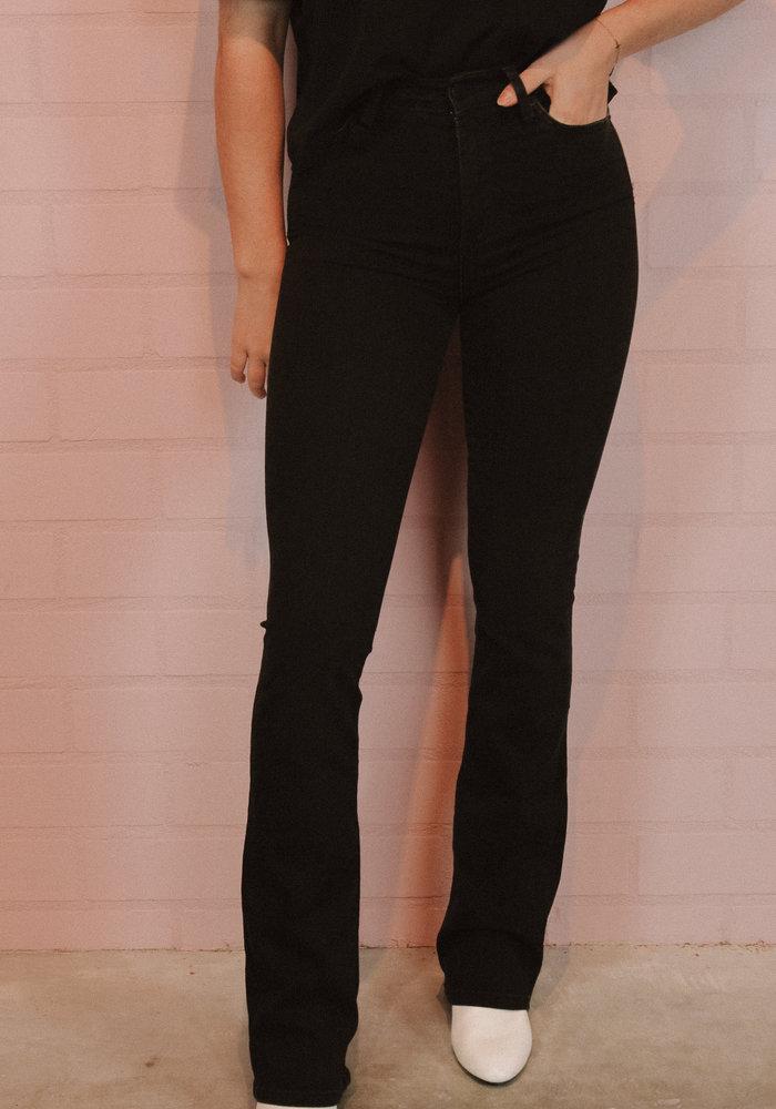 Homage - Flared Jeans Black Used