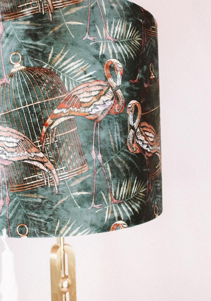 Ratatouille - Lampenkap Flamingo Dark Green