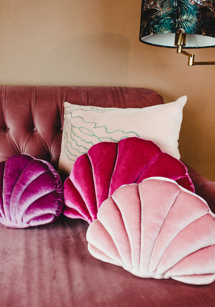 Ratatouille - Kussen Deep Pink Shell