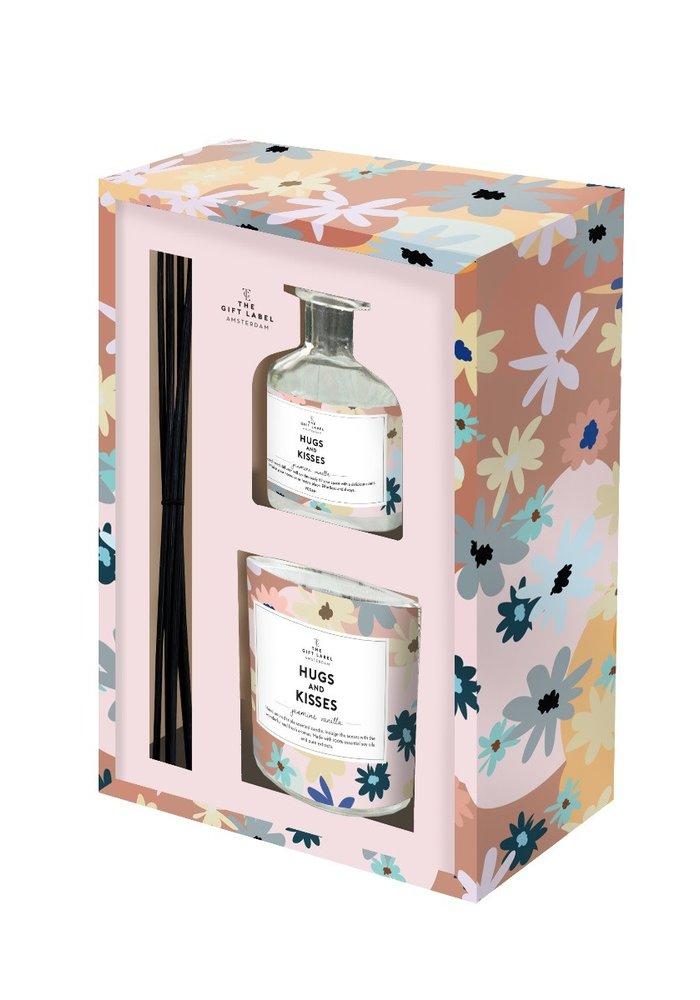 The Gift Label - Gift Box Hugs & Kisses
