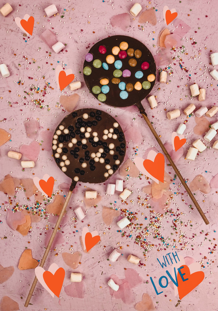 Ratatouille - Chocolate lolly set van 2