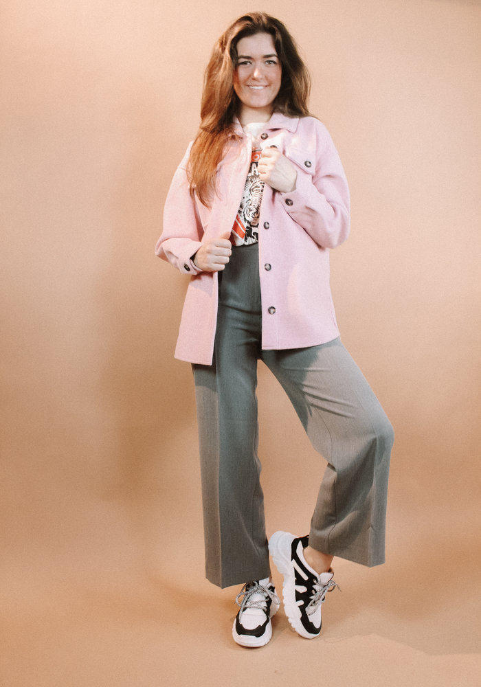 Moves - Savisa Blouse Dusty Pink