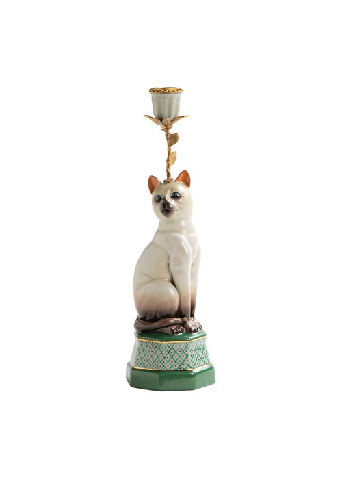 &Klevering Candle Holder Siamese