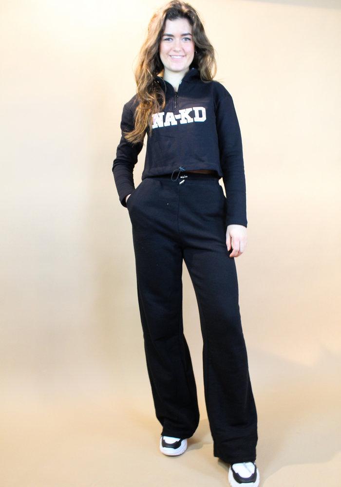 NAKD - Drawstring Sweatpants Black