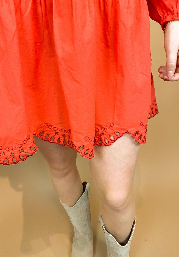 Harper & Yve - Frederique Dress Red