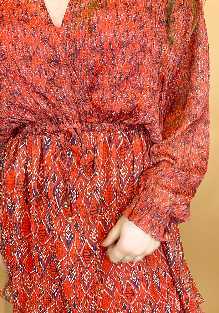 Harper & Yve - Fayen Dress Red