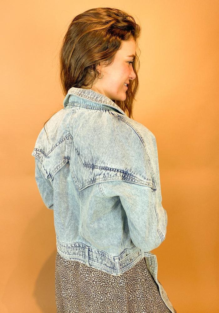 Homage - Retro Denim Jacket - Summer Blue