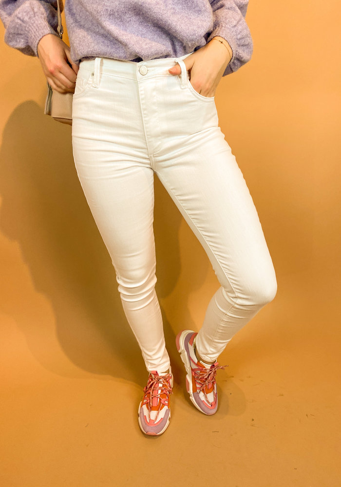 Homage - Jagger - Colored Skinny Jeans - Off White
