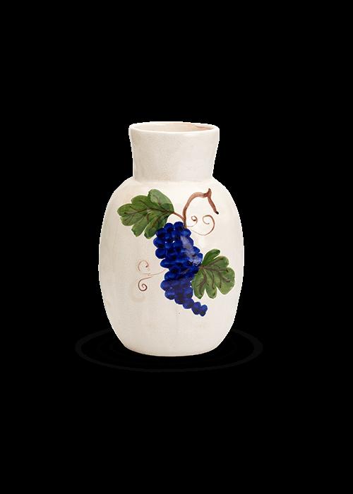 Anna + Nina - Ceramic Vase Grapes