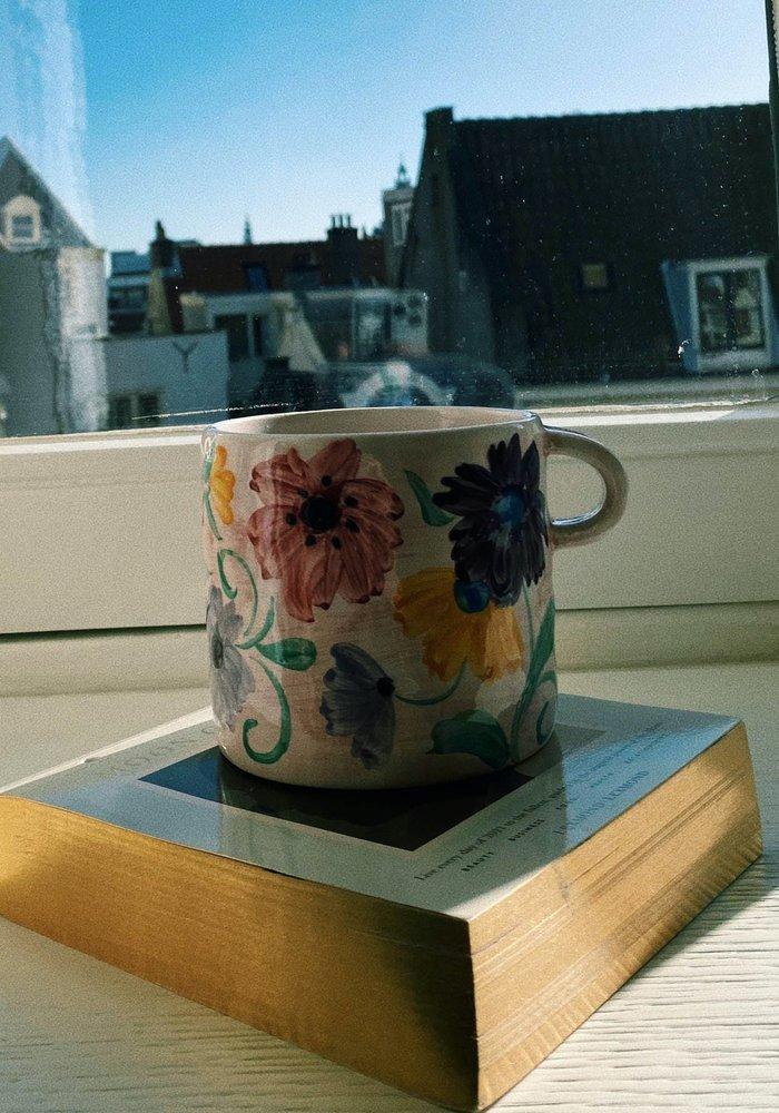 Anna + Nina - Mug Flowers Blush Pink