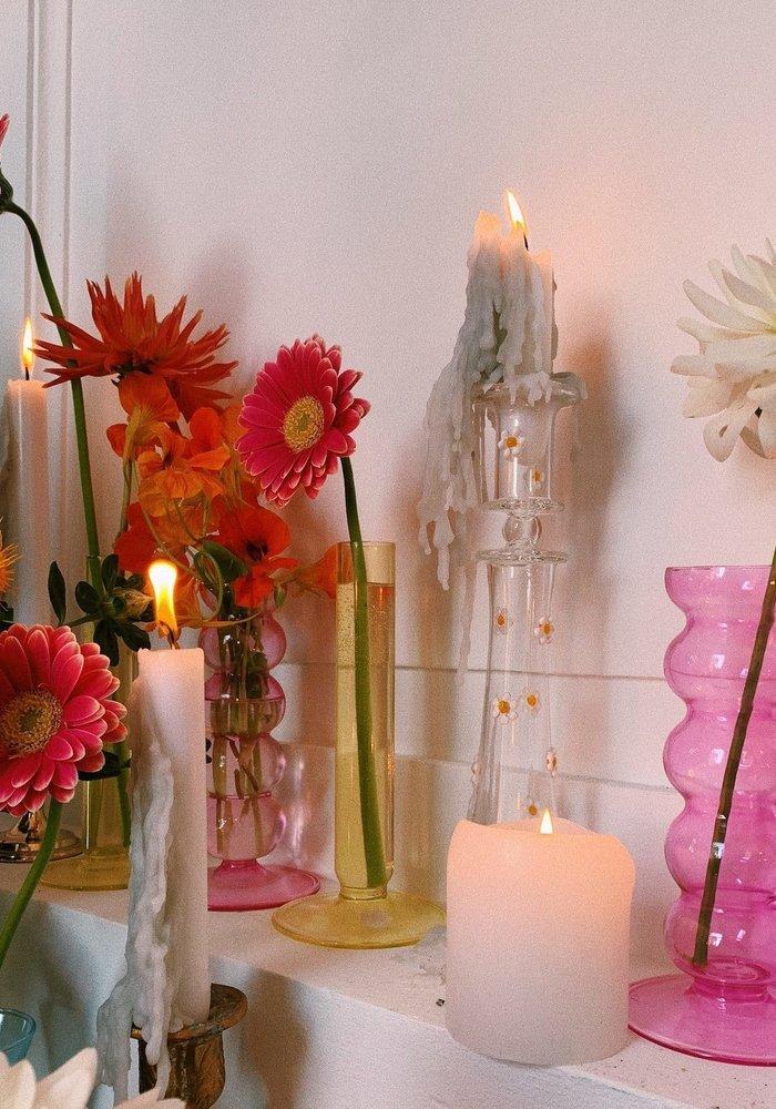 Anna + Nina - Daisy Glass Candle Holder