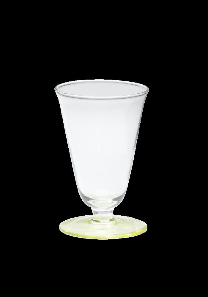 Anna + Nina - Wine Glass Lemonade Yellow