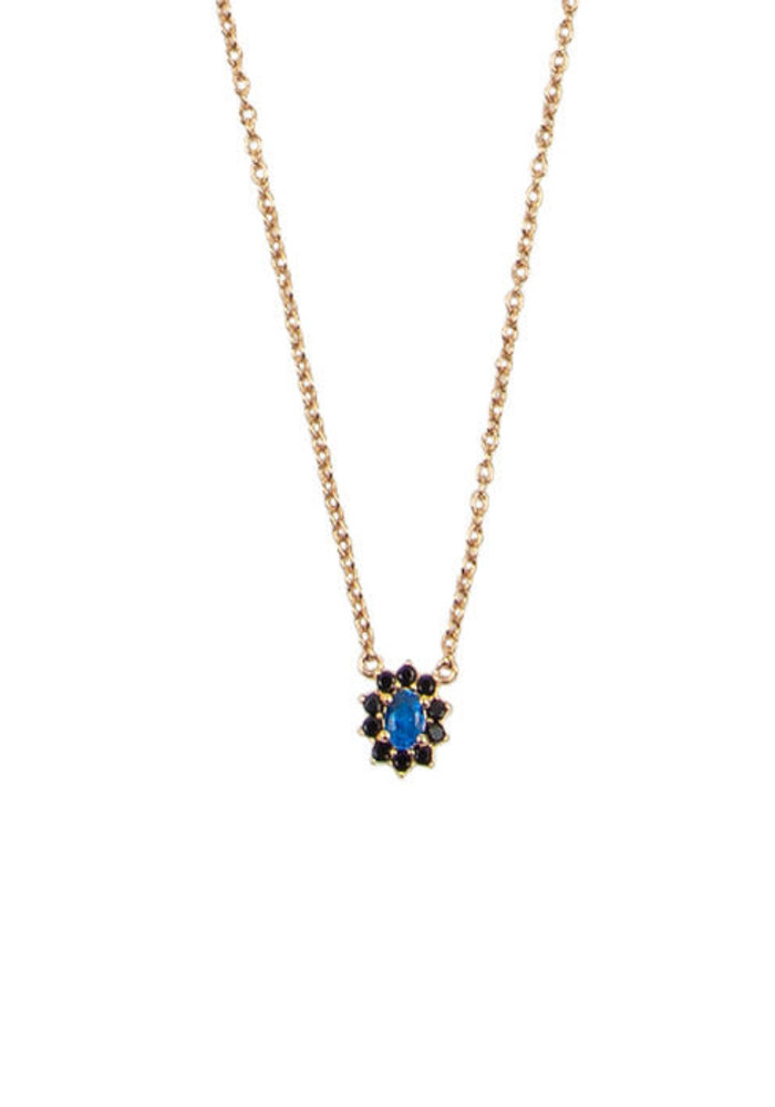 All The Luck In The World - Amour Flower Dark Blue