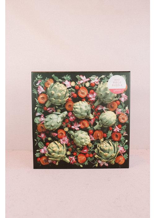 Artichoke - Floral Jigsaw