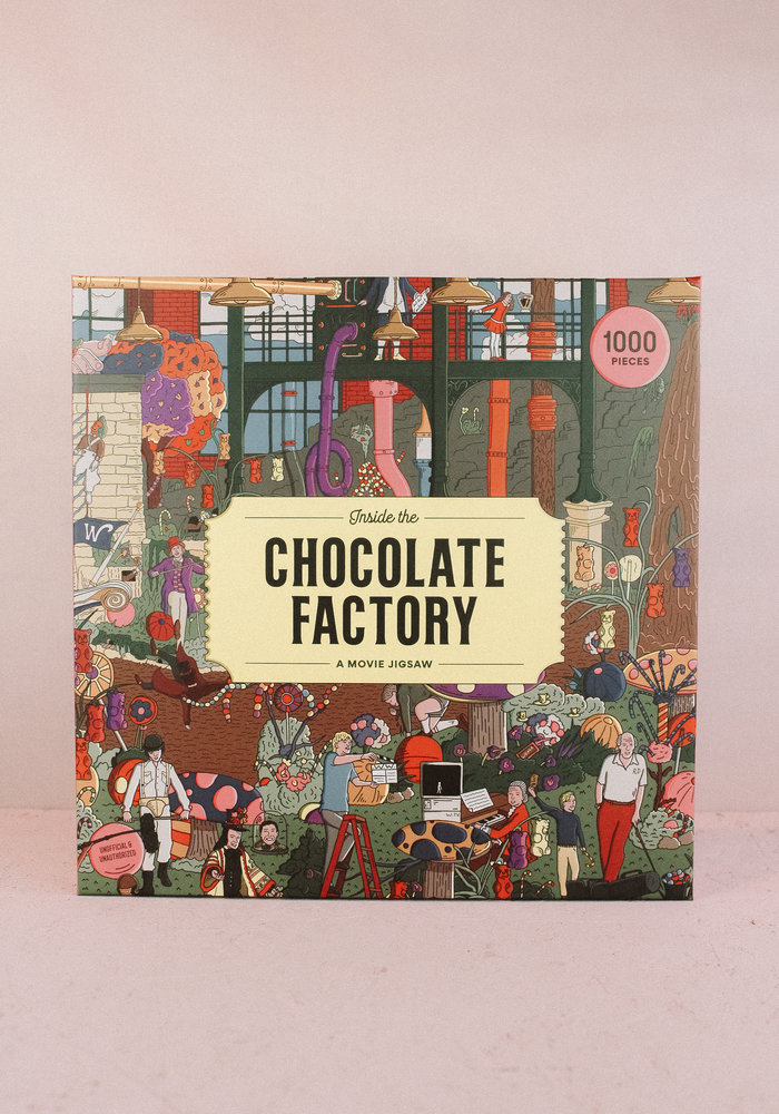 Inside The Chocolate Factory Puzzel