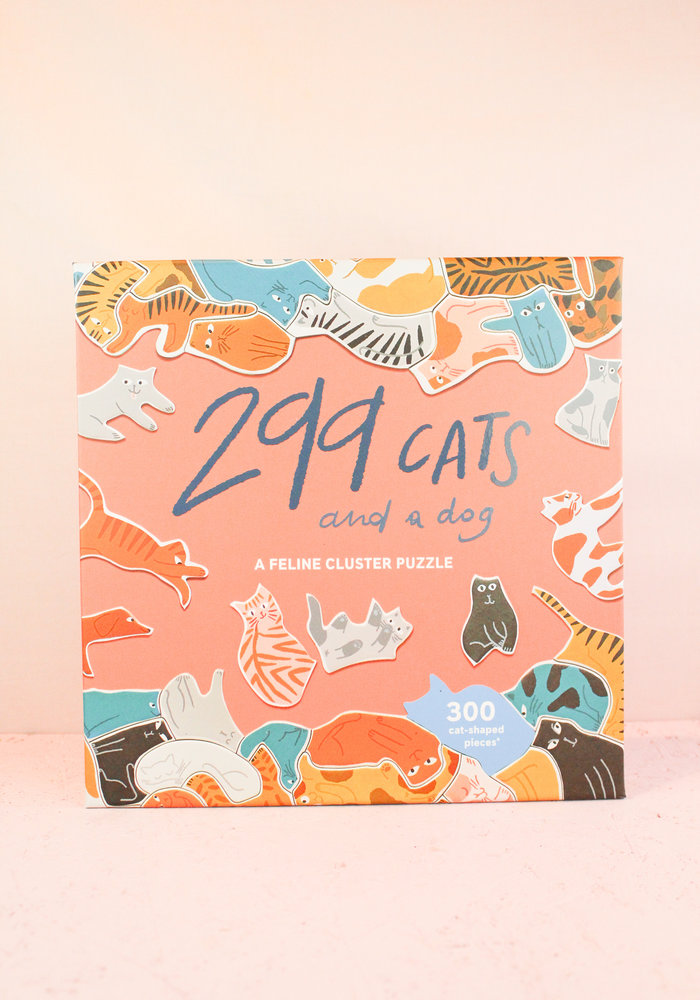 299 Cats ( and a dog) -