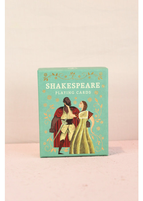 Decadence - Shakespeare playing cards
