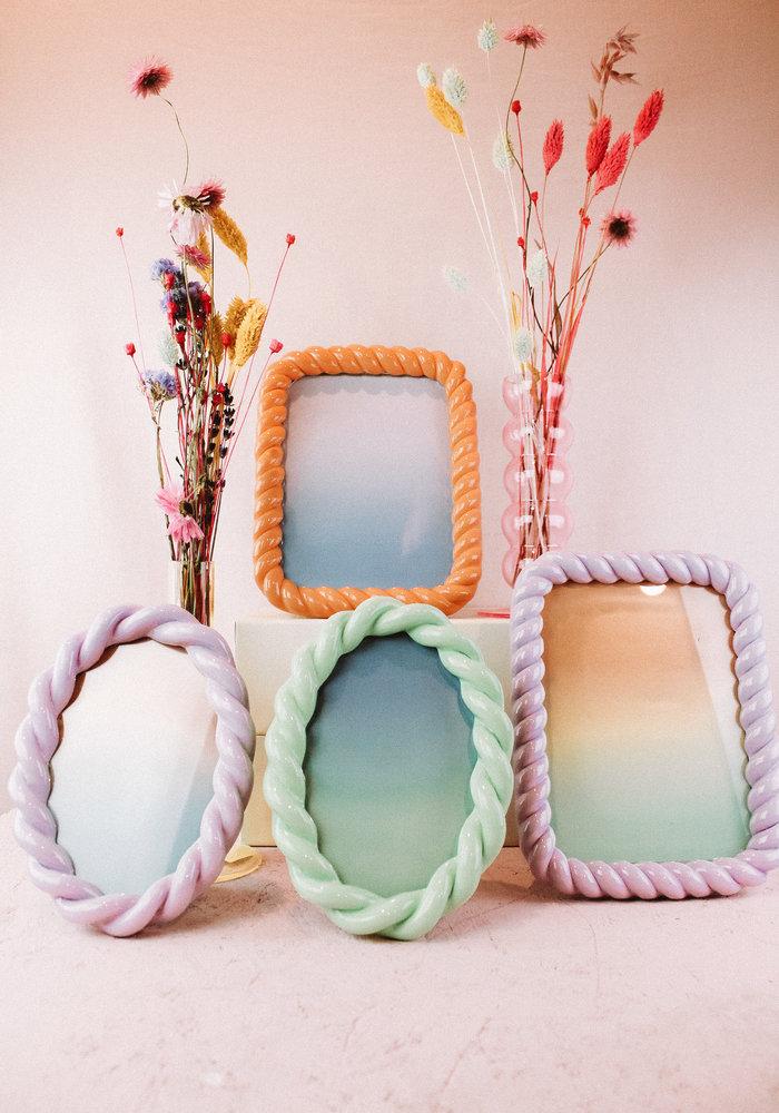 &Klevering - Photo Frame Oval Mint