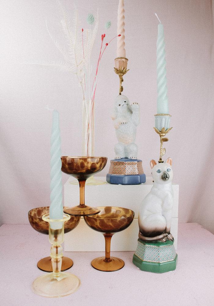 &Klevering Candle Holder Siamese