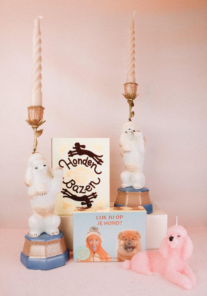 &Klevering Candle Holder Poodle