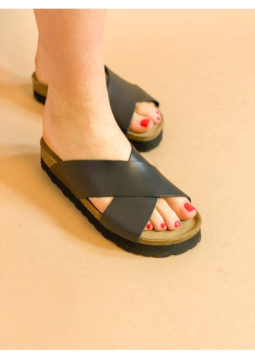 redesigned Redesigned - Vina slipper black