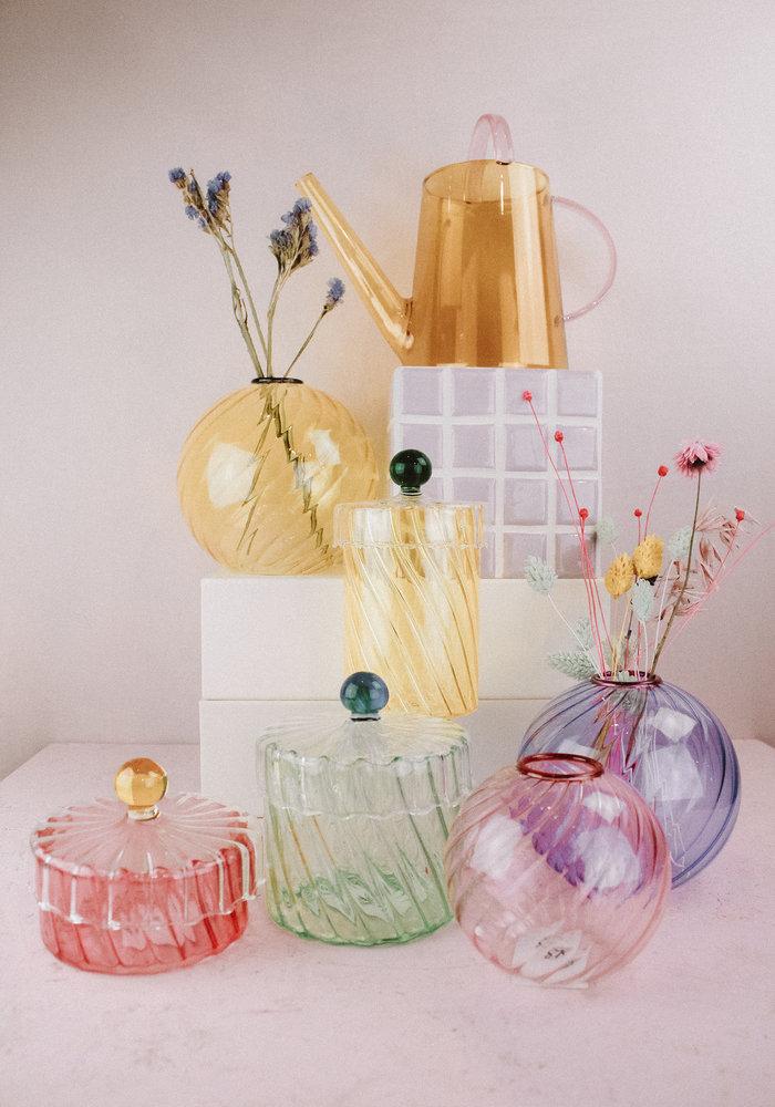 &Klevering - Jar Spiral Pink