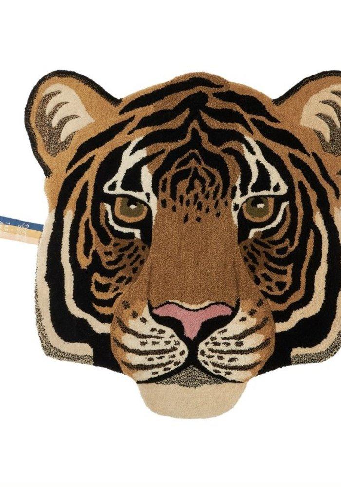 Doing Goods - Rajah Tiger Head Rug Large