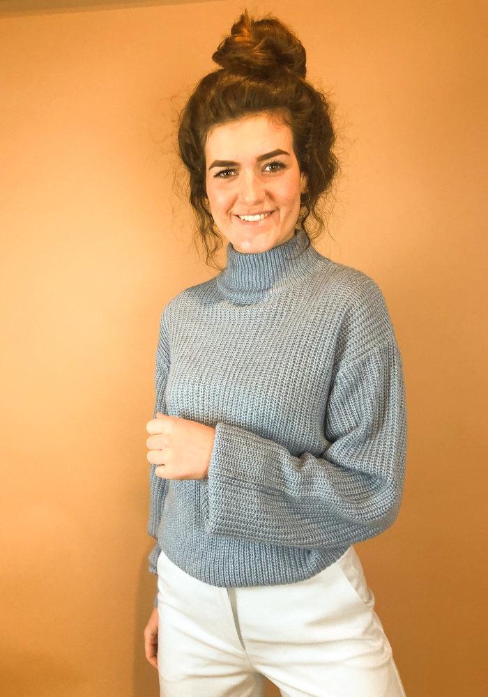 Rut & Circle - Melina Knit Mid Blue