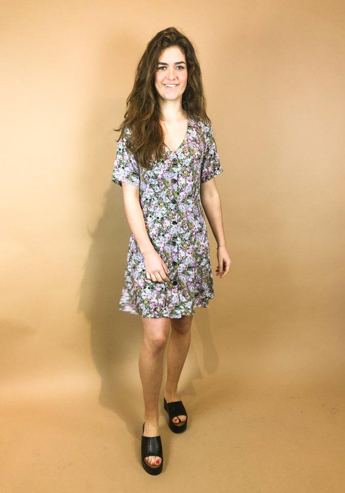 24colours - Purple Flower Dress