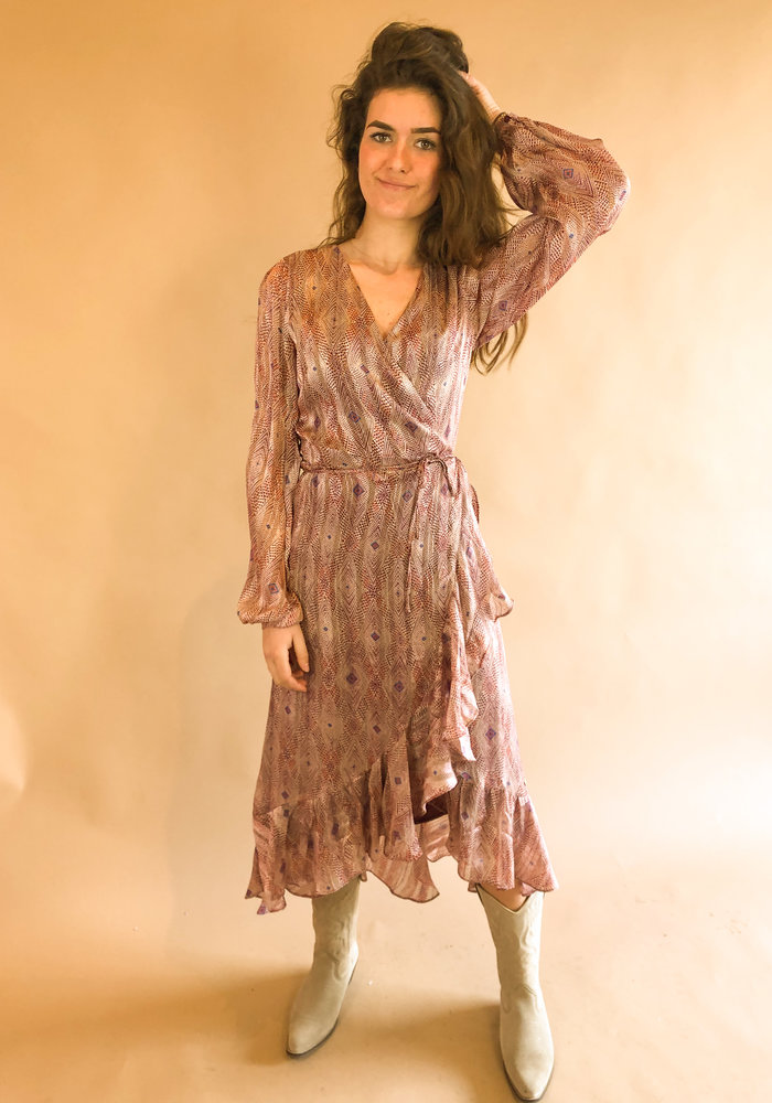 Harper and Yve - Yael Dress Soft Pink