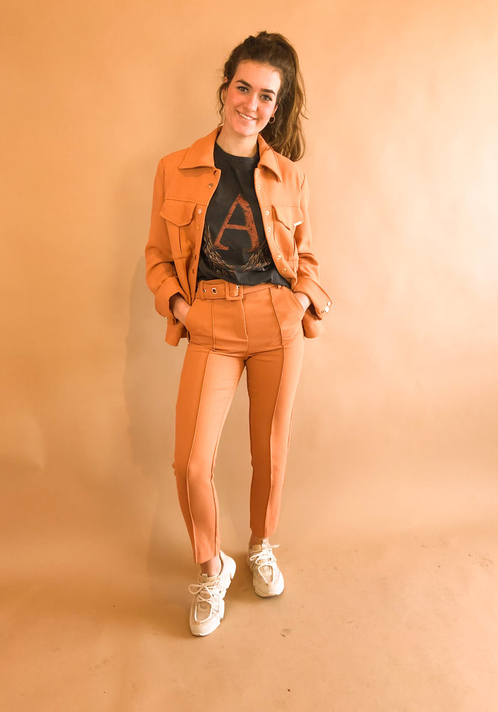 Harper and Yve - Mae Jacket Orange