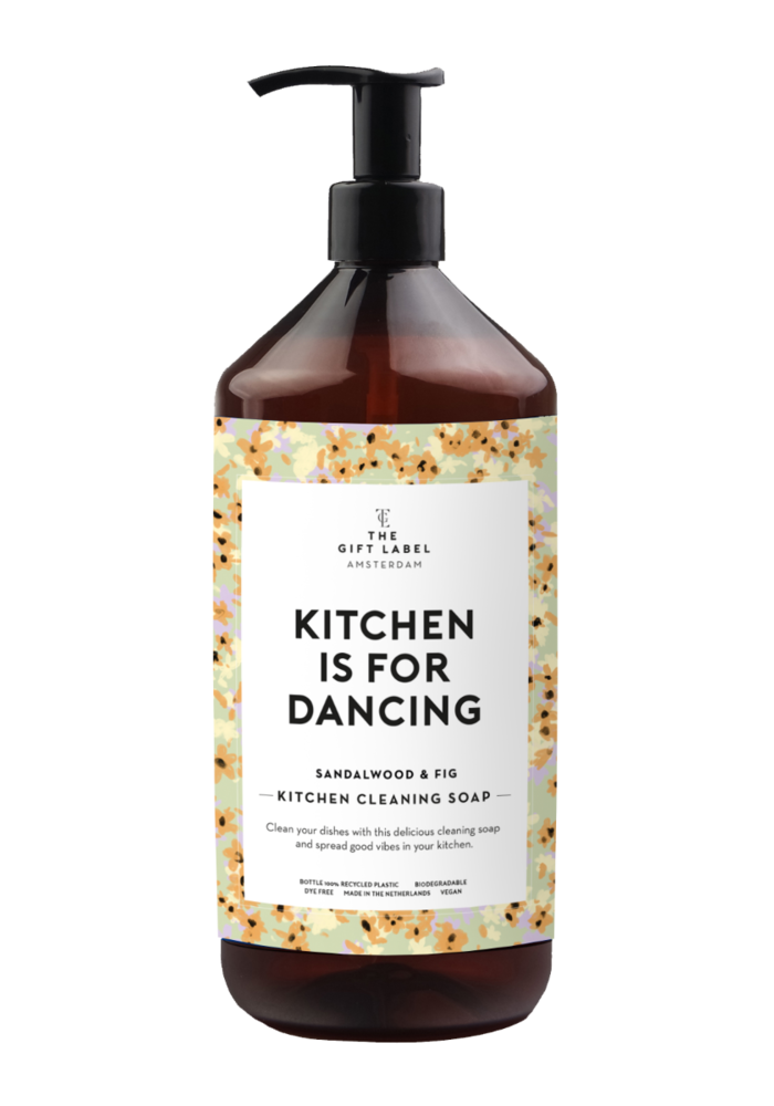 The Gift Label - Kitchen Cleaning Soap - Kitchen is  for dancing