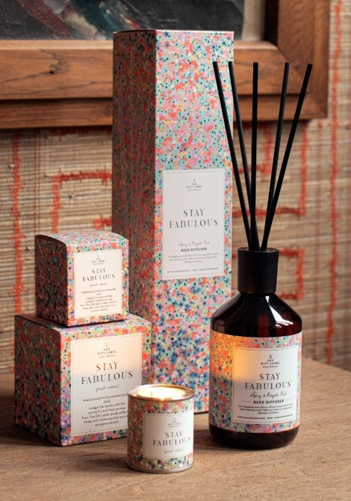The Gift Label - Reed Diffuser - Stay Fabulous