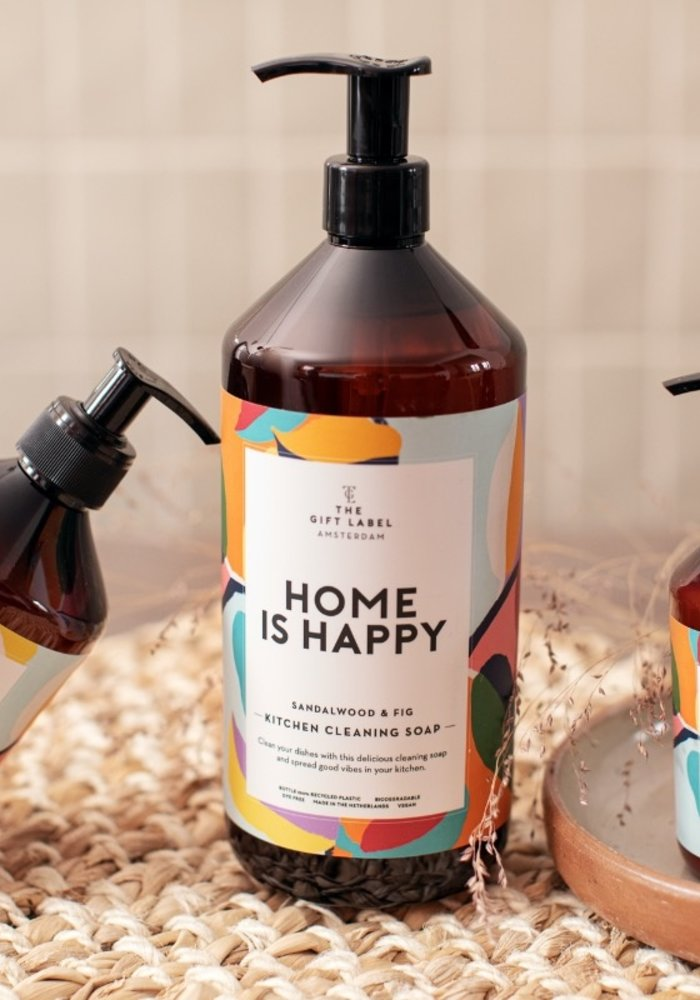 The Gift Label - Kitchen Cleaning Soap - Home is Happy