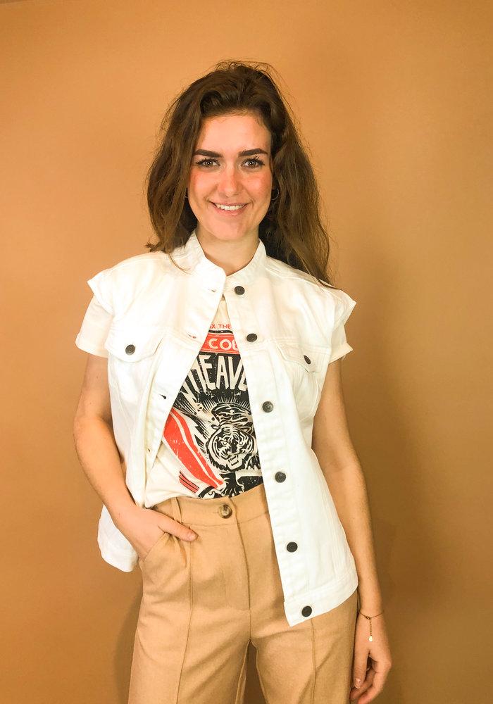 Rut & Circle - Naomi Vest White
