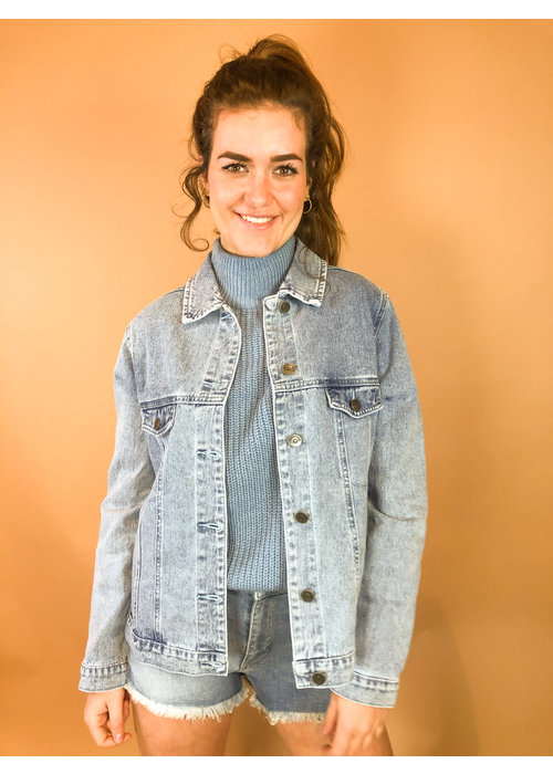 Rut & Circle - Lova Jeans Jacket Mid Blue