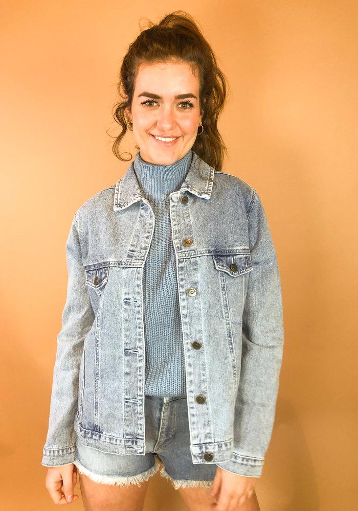 Rut & Circle - Lova Jeans Jacket Mid Blue