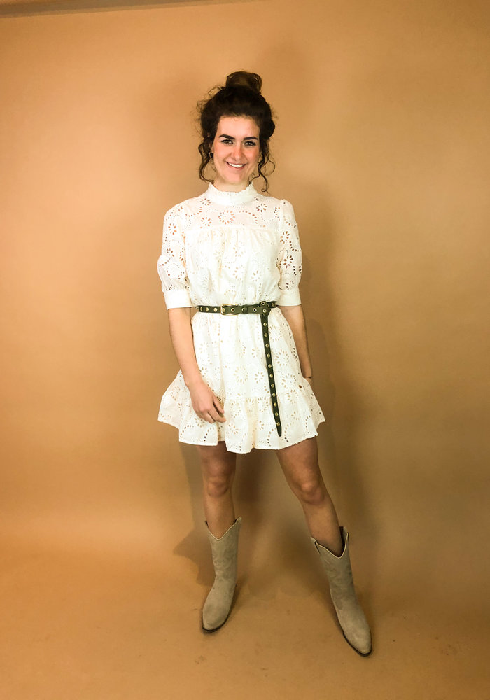 Harper and Yve - Milou Dress Ecru