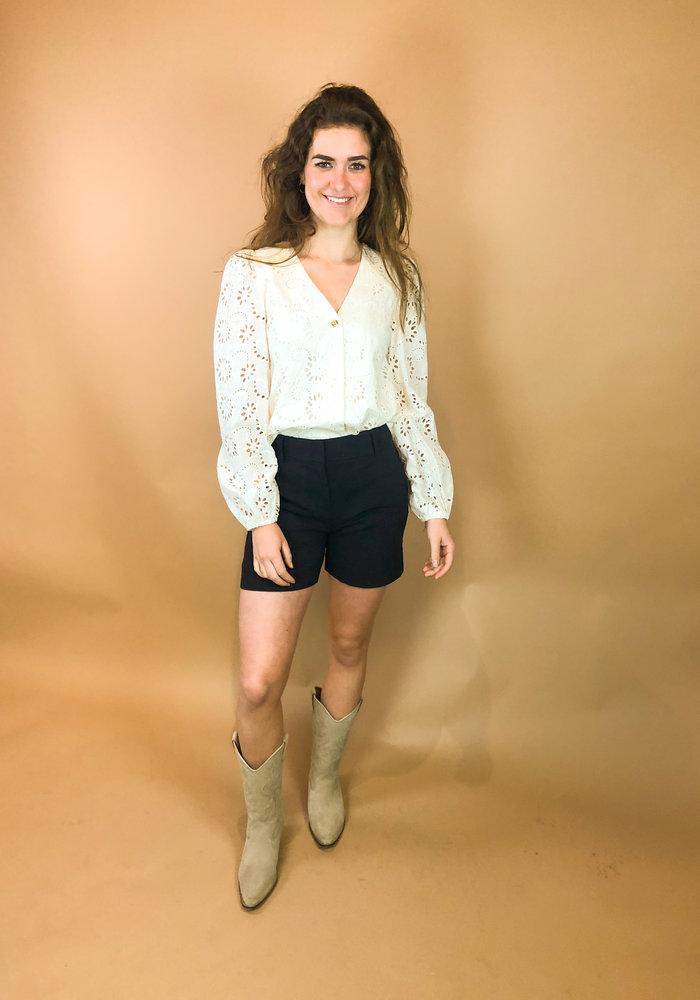 Harper and Yve - Milou Longsleeve blouse Ecru