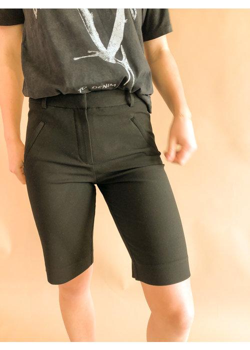 five units Five Units - Angelie Straight Split Shorts Black