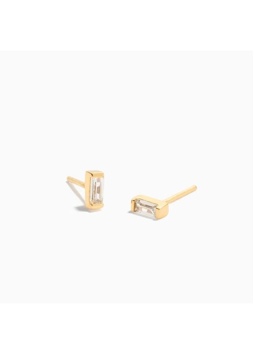 Eline Rosina Eline Rosina - Zirconia Baguette Earrings