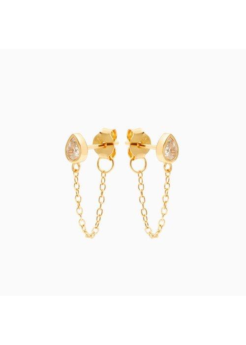 Eline Rosina Eline Rosina - Drop Chain Earrings