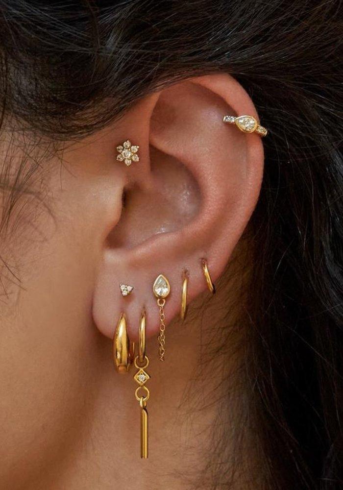 Eline Rosina - Drop Chain Earrings