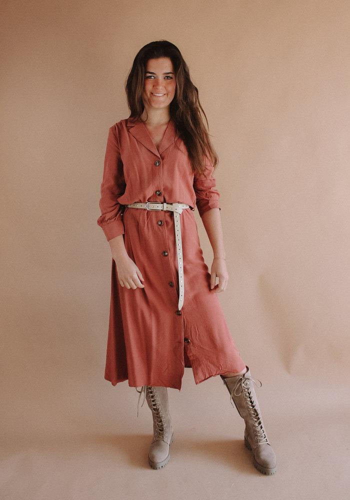 Harper and Yve - Hayli Dress Soft Pink