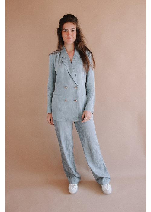 Freebird Freebird - Cloe Trouser Blue Grey
