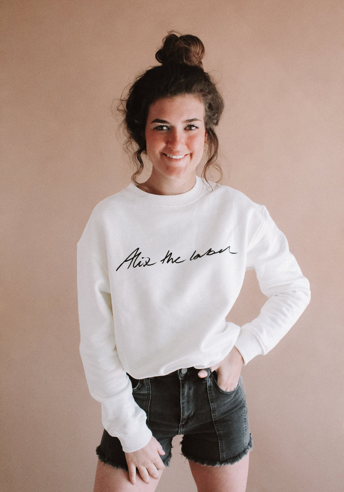 Alix - Ladies Knitted Alix the label - Sweater white