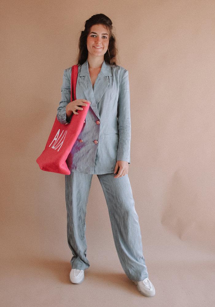 Alix - Ladies Woven Felted Alix Bag Pink