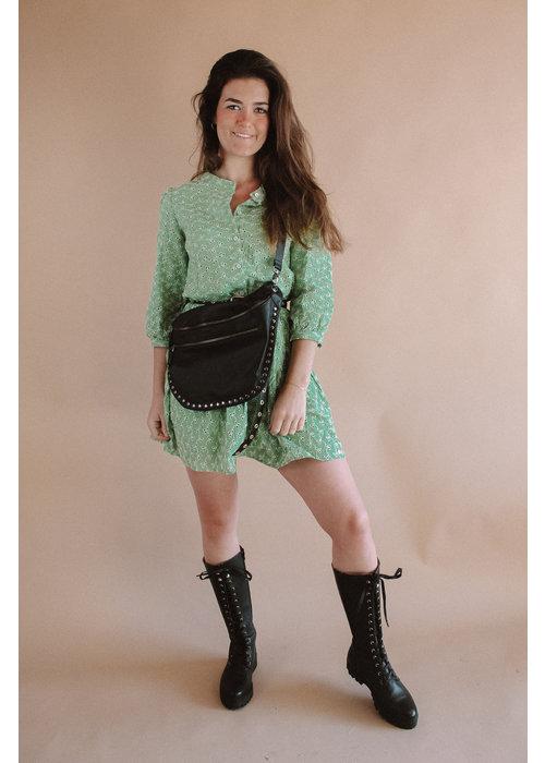 Kate Stud Bag - Black