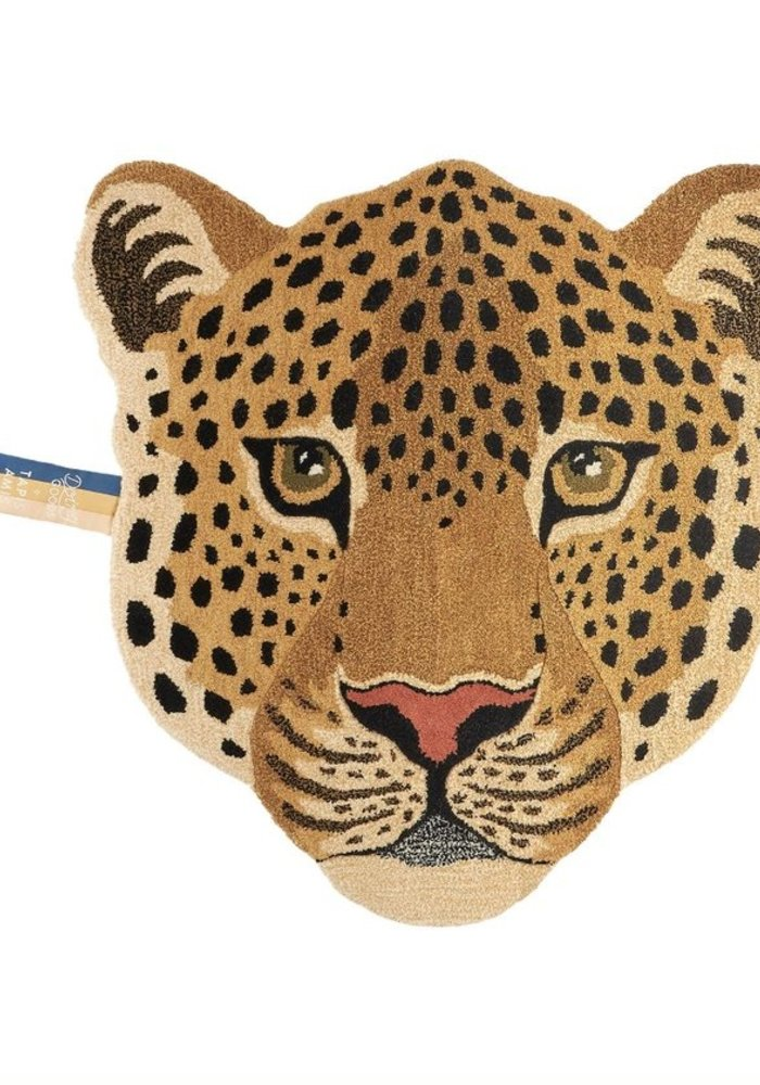 Doing Goods - Himani Leopard Head Rug Large